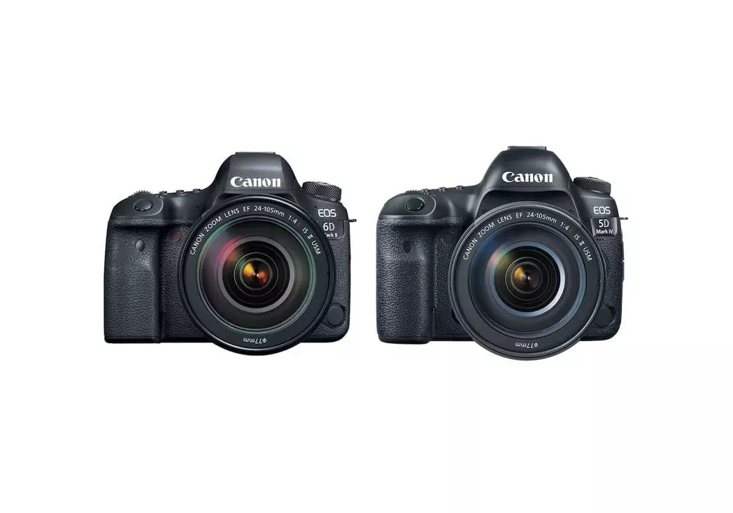 Canon 6D Mark II vs 5D Mark IV vs 5D Mark III | Specs Shootout