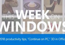 This Week On Windows: 3D for Office and Continue on PC