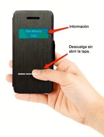 frontal funda iphone