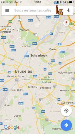 google maps sin conexion buscador