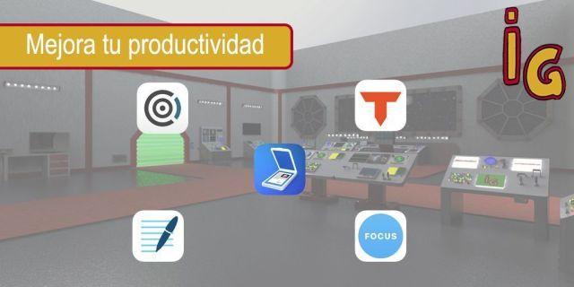 5 app para mejorar tu productividad