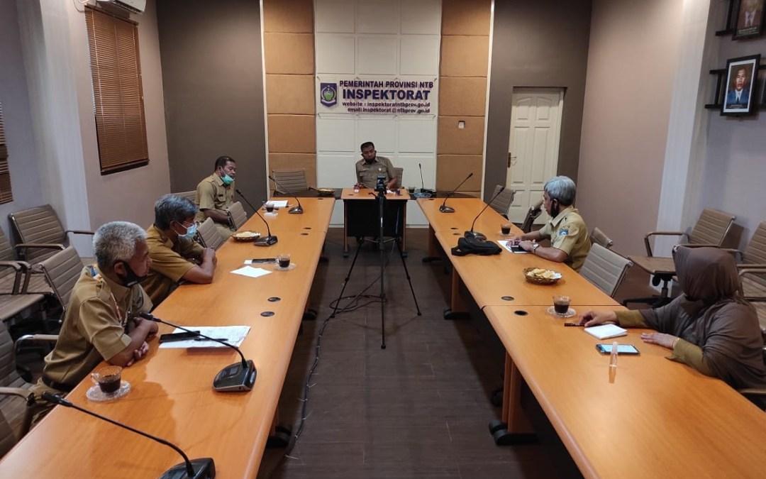 Rapat Koordinasi Intern Inspektorat Provinsi Nusa Tenggara Barat