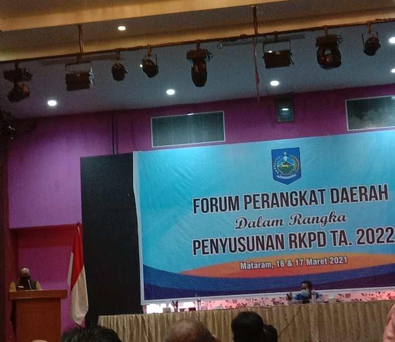 Rapat Forum Perangkat Daerah: Penyusunan RKPD TA. 2022