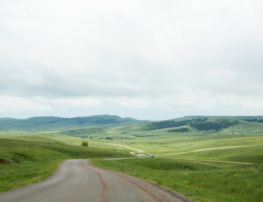 Autoweg in Custer State Park