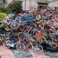 🚲 El boom de las bicicletas compartidas está saturando las ciudades chinas