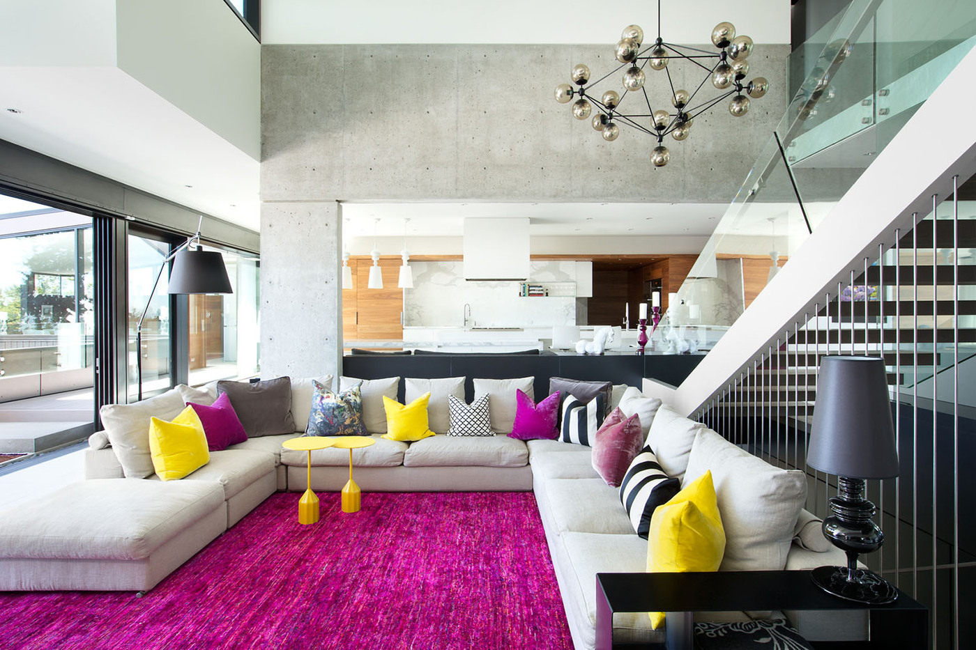 colors combination living room design