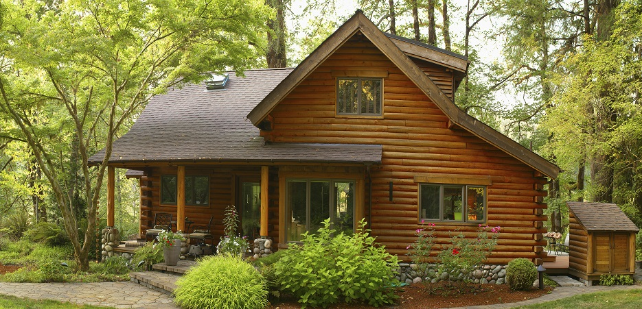 modern house plans - house made of wood