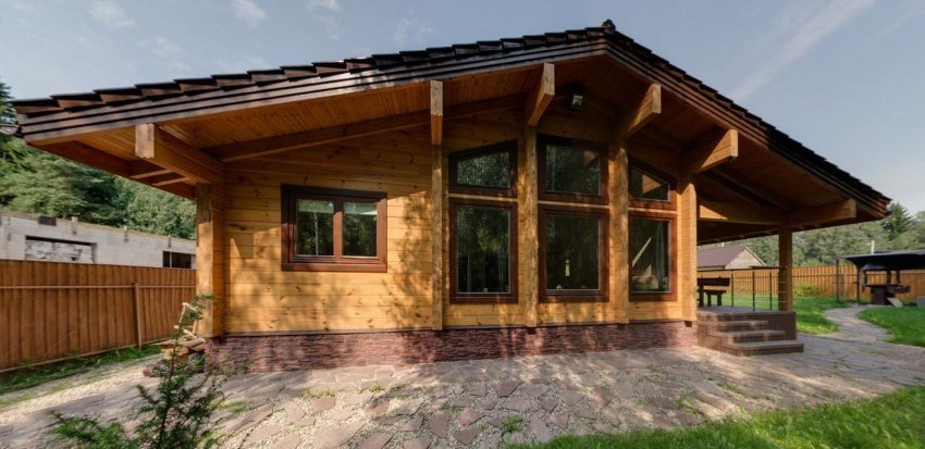 small woods home  modern house design