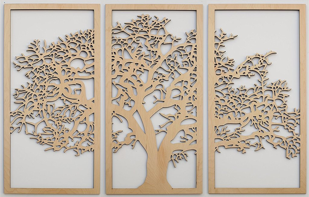 3D Tree Panel for ornaments