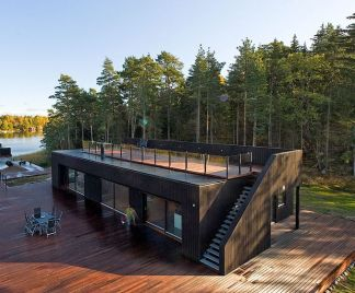 Container House Maximize Storage
