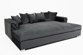 daybed sofa in grey color modern and minimalist for living room