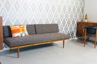 luxury sofa daybed in wooden style