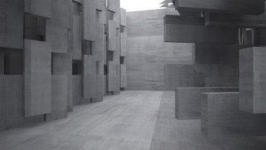 abstract concrete house design