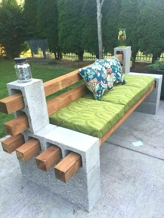 glinder bench with pillow ideas