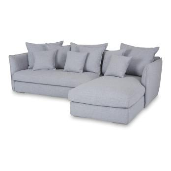 chaise lounge sofa modern in grey