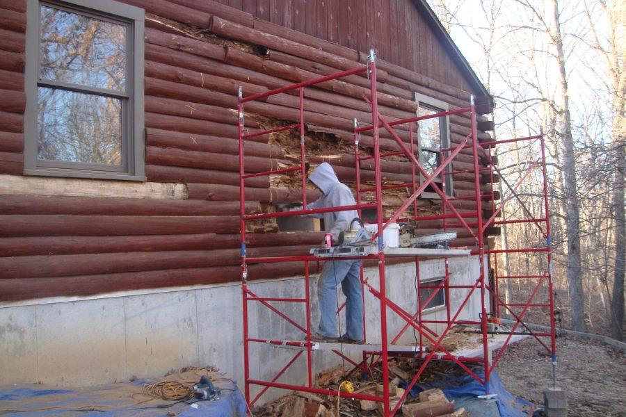 log repair Maintain Traditional Houses