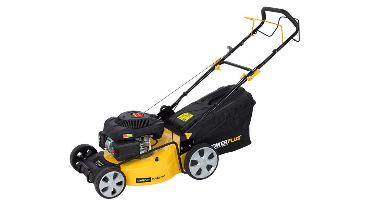 powerplus lawnmower model
