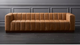 sofa wooden color