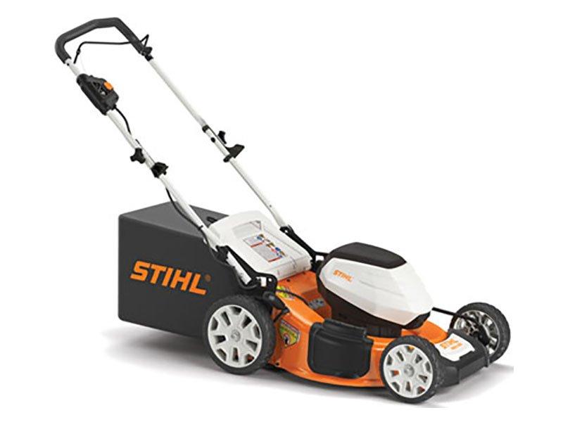 stihl Lawnmower design