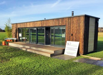 wide angle container house