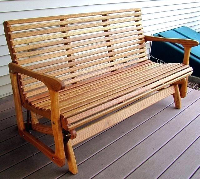 wooden glinder benche idea