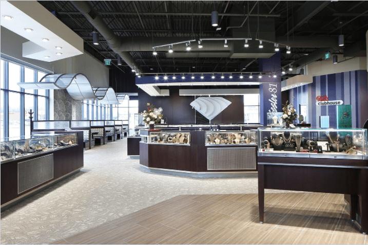 Matte Black Commercial Interiors
