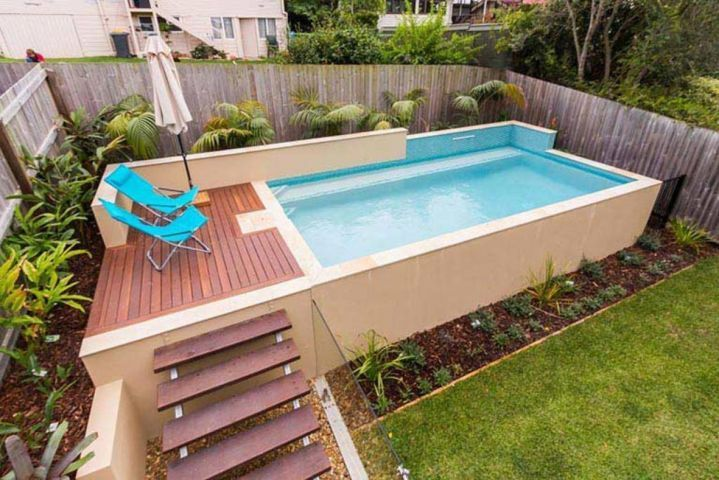 above ground pool image