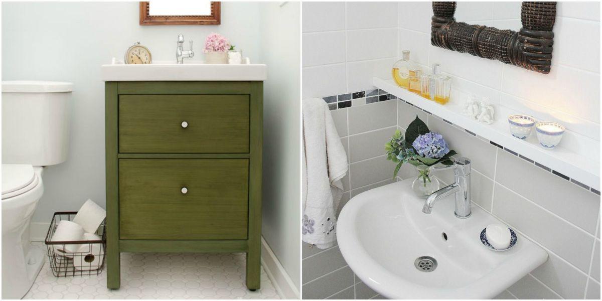 bathroom sink and fixtures