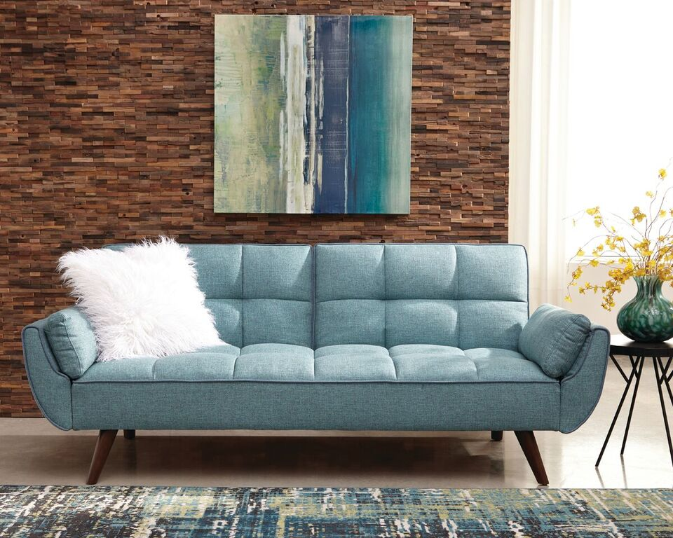 combination color sofa with pillow