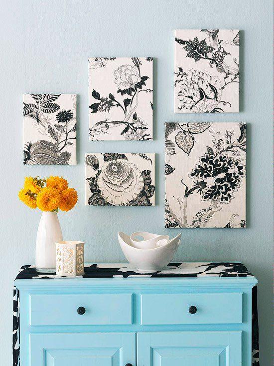 creative drawing wall art decor