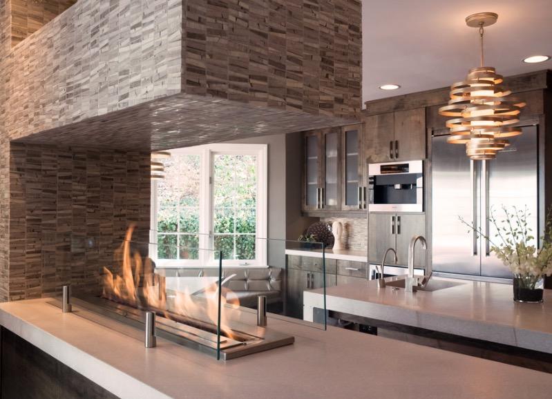 fireplace ideas corner
