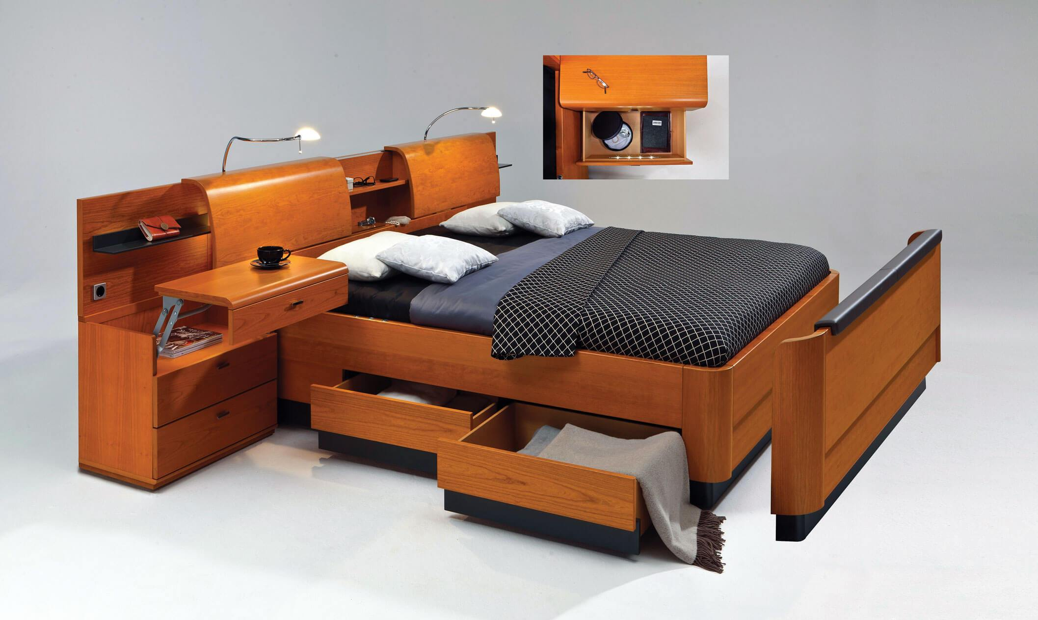multifunctional furniture bedroom design