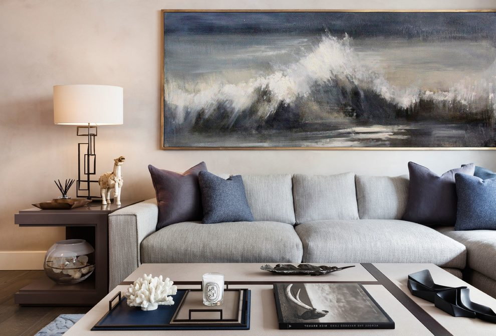 nature painting living room ideas
