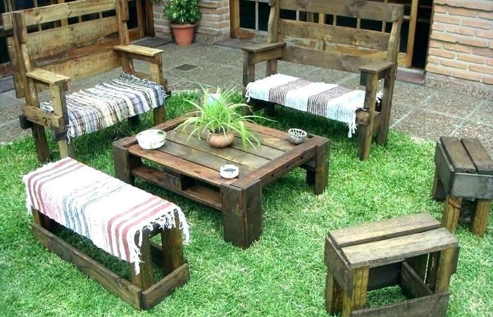 patio backyard pallet ideas