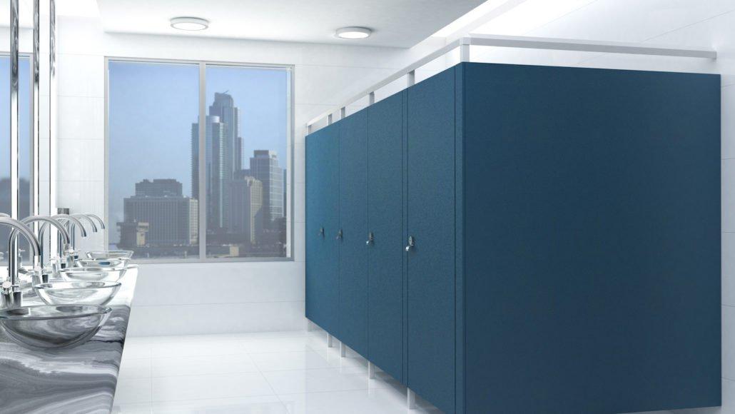 plastic laminated bathroom partitions