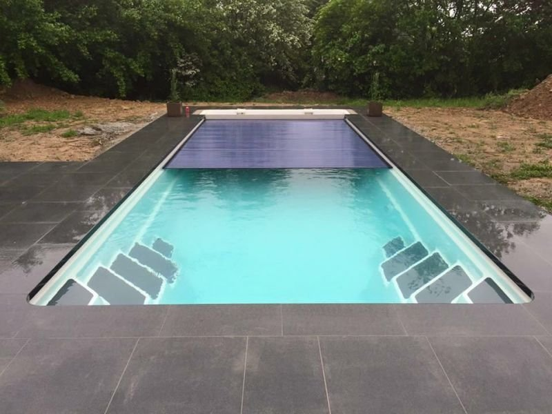 pool cover ideas modern