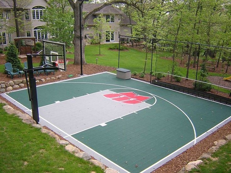 simple backyard sport design