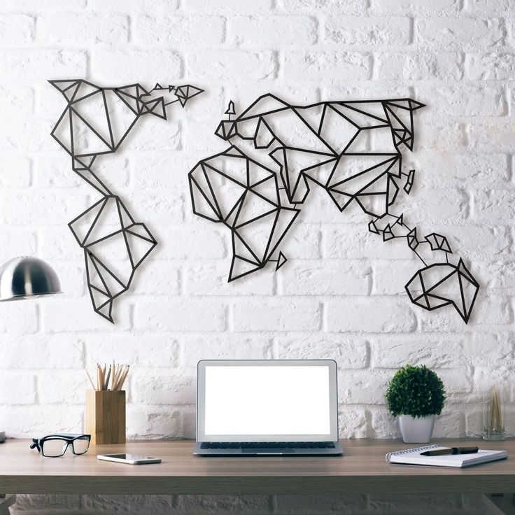 simple wall art wired design