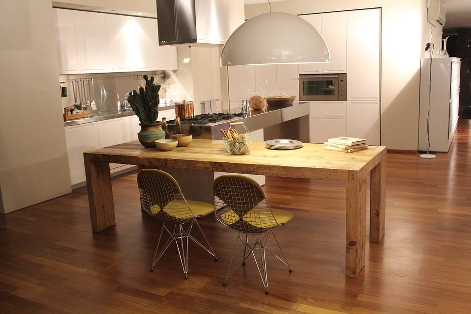 Wooden Floor In Kitchens