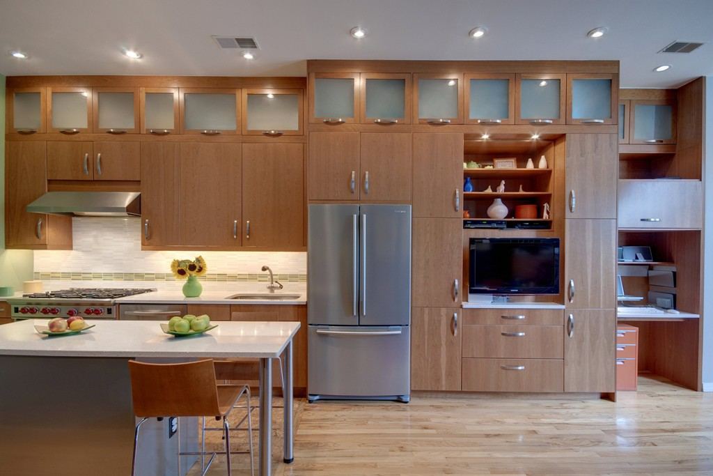 modern chinese cabinets and lighting