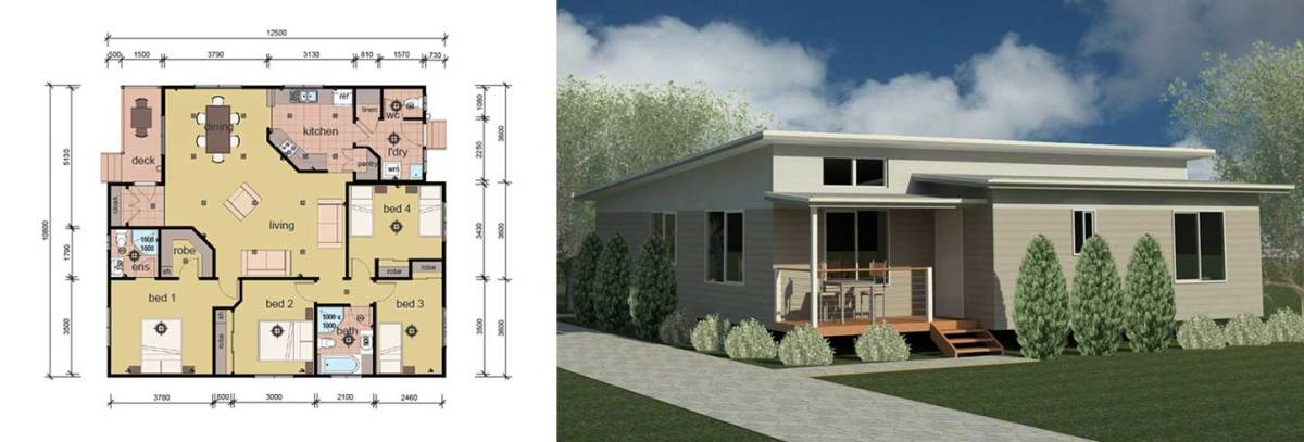 modular home 4 bedroom ideas
