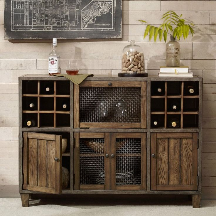 storage furniture bar cabinet ideas