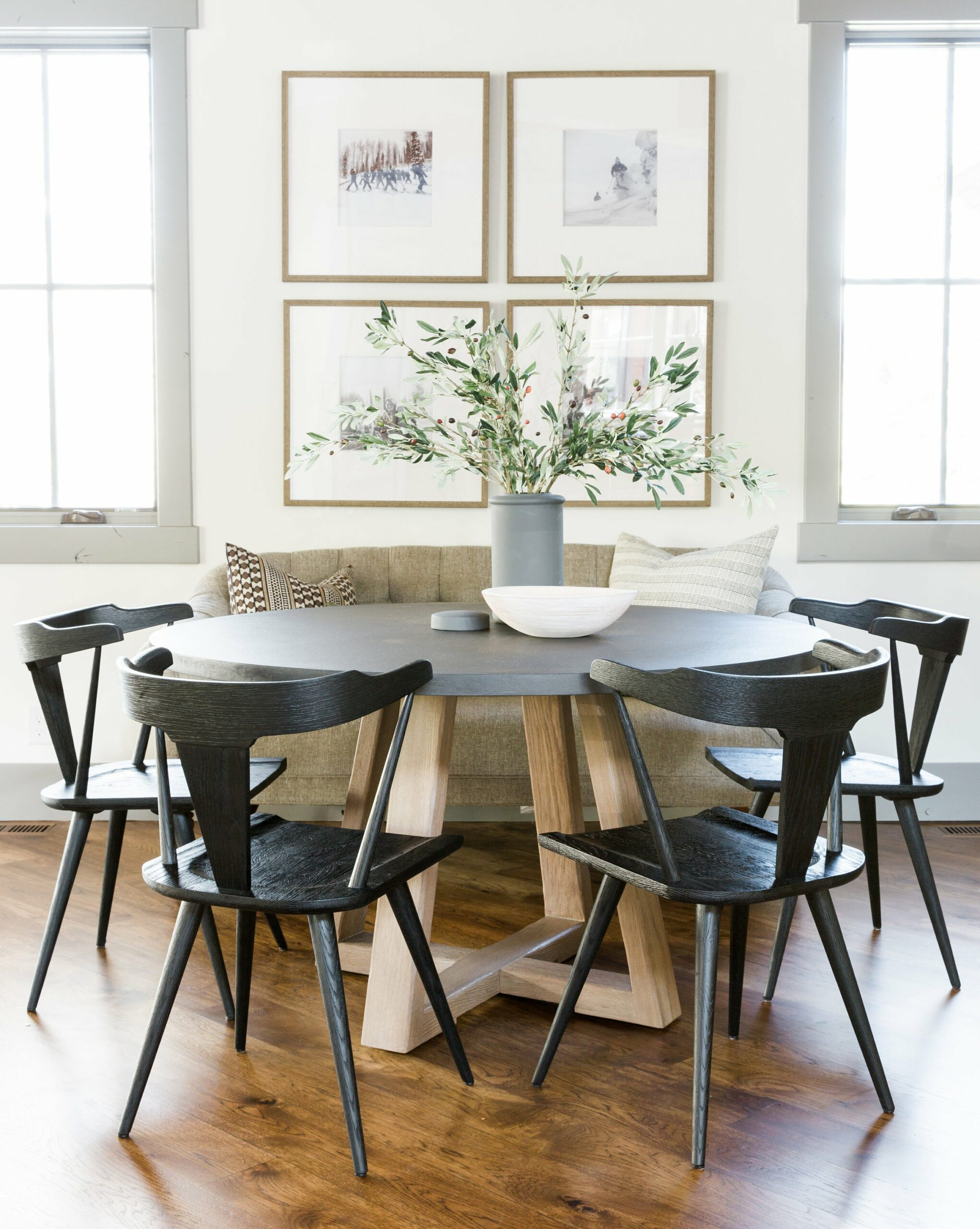 classic modern table design sets
