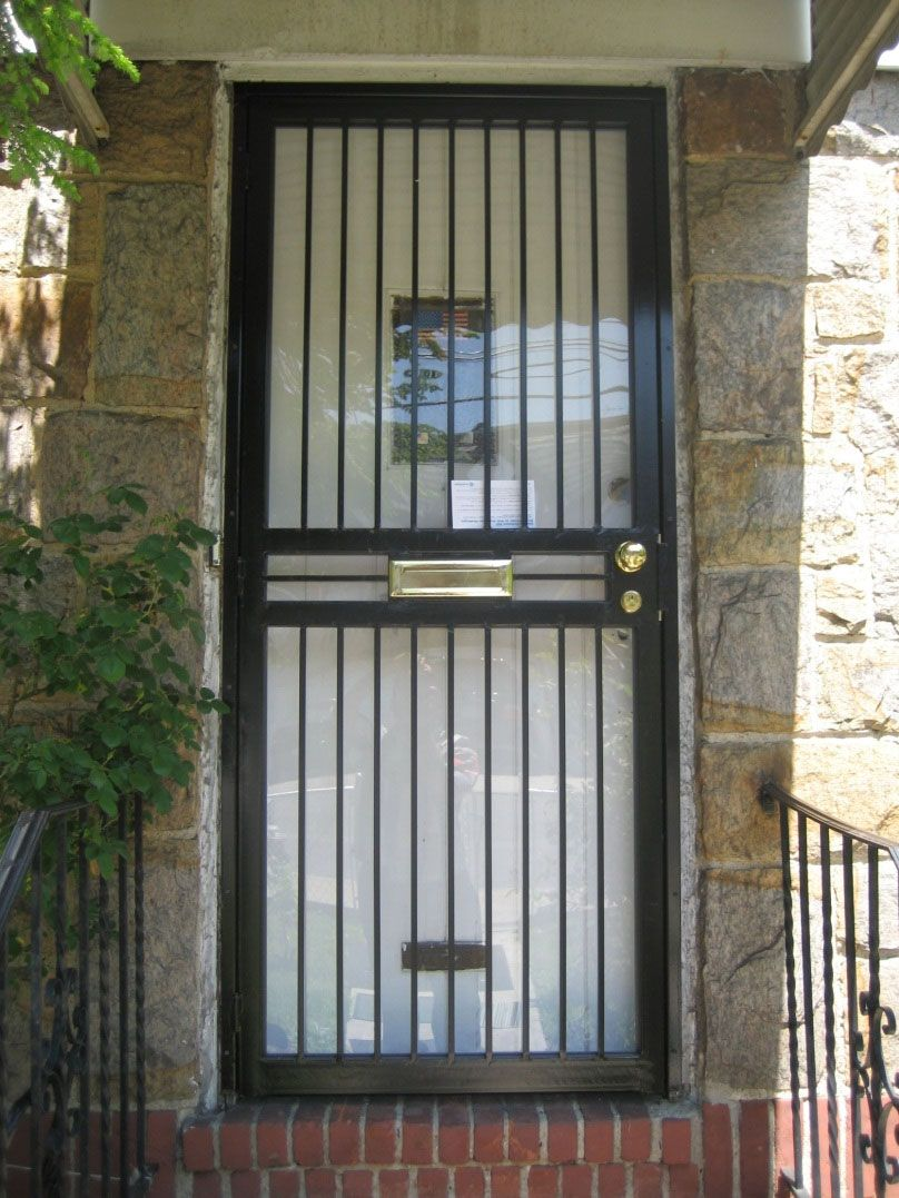 contemporary steel doors