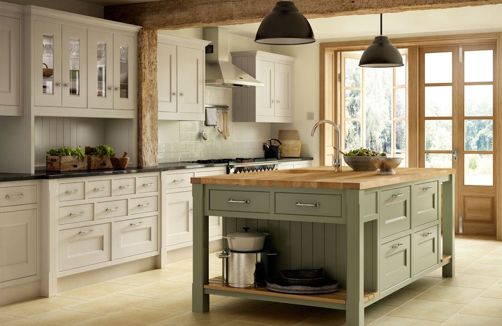 country range kitchen