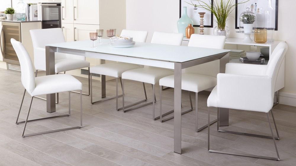 white design dining room furniture