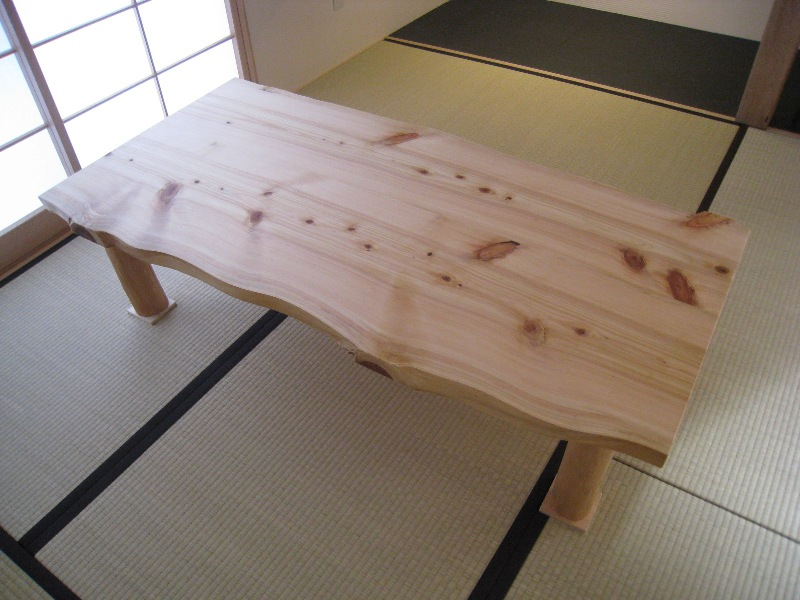 japanese wooden table style