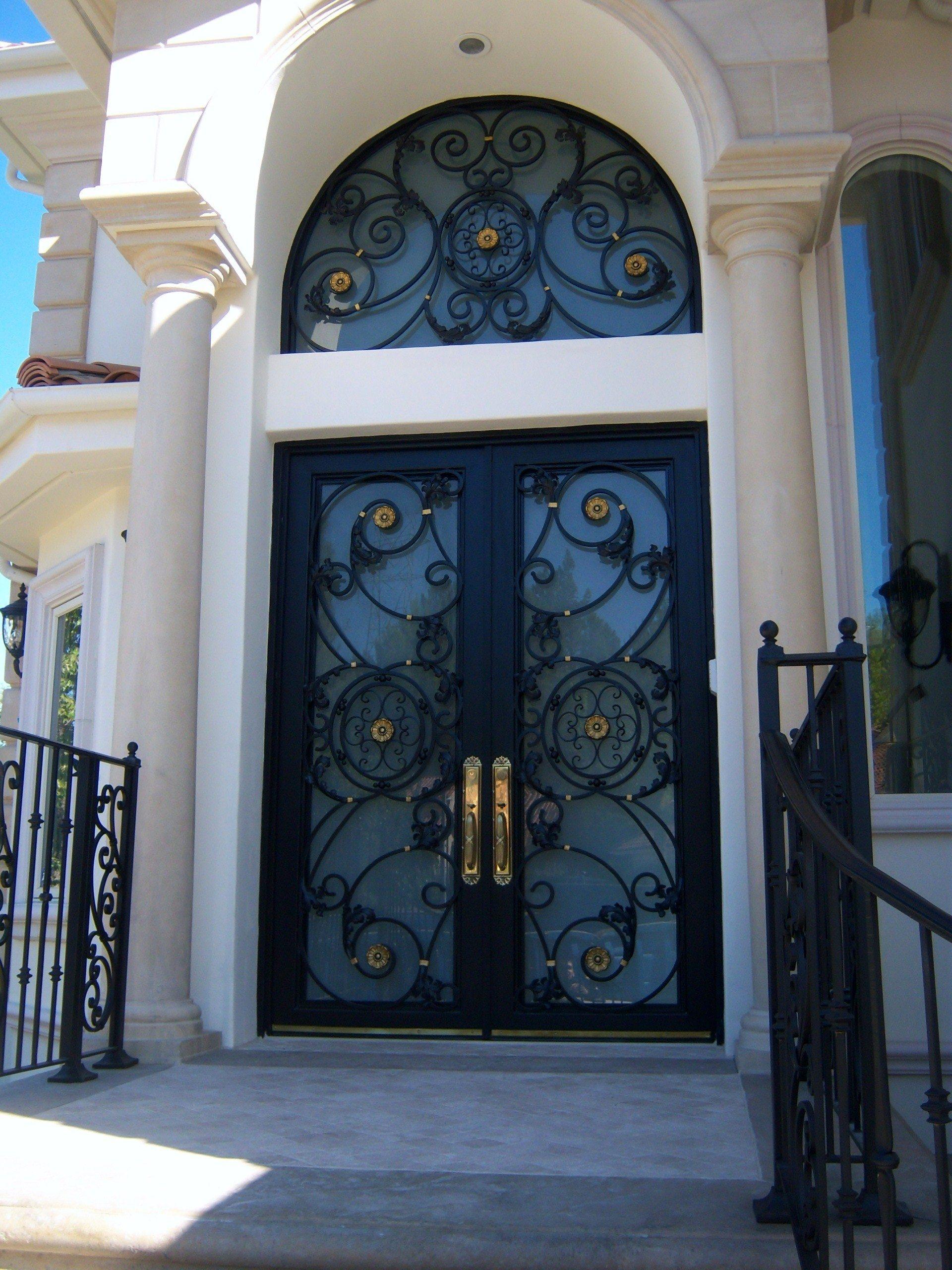 metal doors design ideas