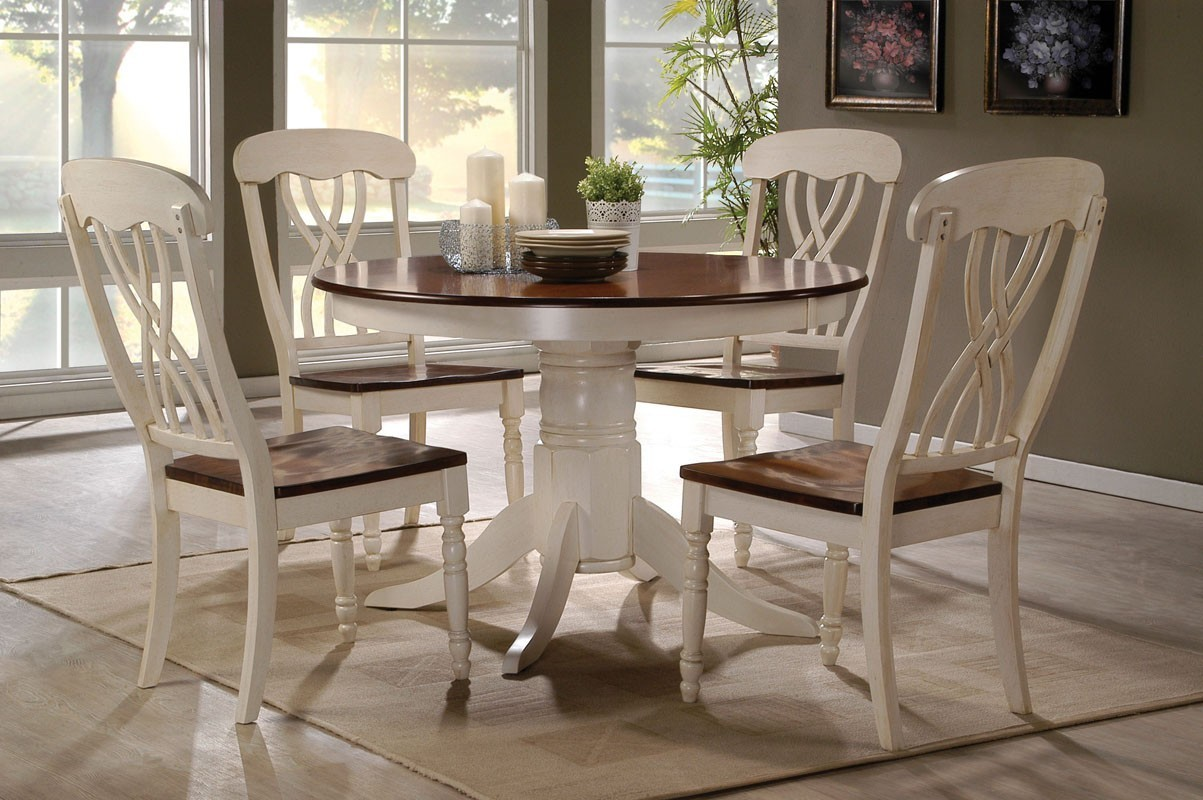 oak buttermilk round table