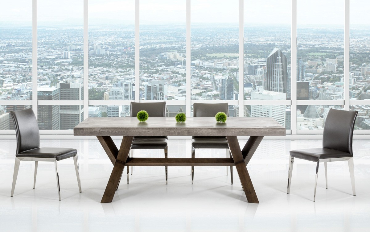 rectangular table design